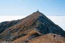 Colma di Monbarone, cresta nord
