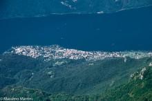 Abbadia Lariana, vista dal Rifugio Rosalba